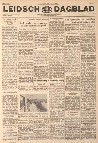 Leidsch Dagblad 1947-08-09