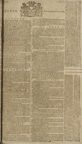 Leydse Courant 1773-01-27