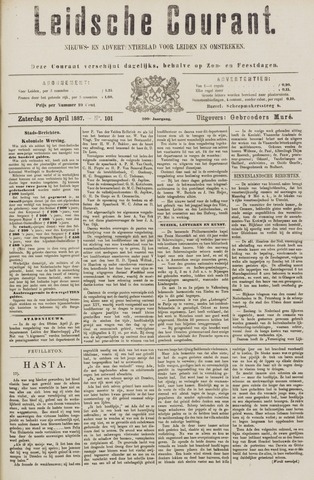 Leydse Courant 1887-04-30