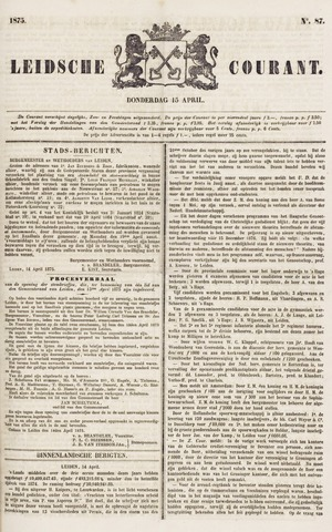Leydse Courant 1875-04-15