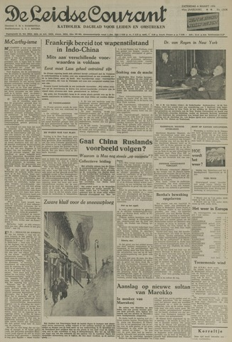 Leidse Courant 1954-03-06