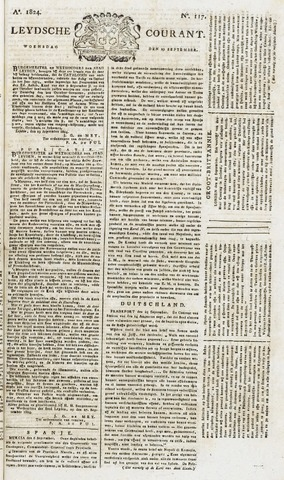 Leydse Courant 1824-09-29