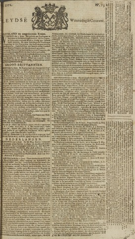 Leydse Courant 1771-06-19