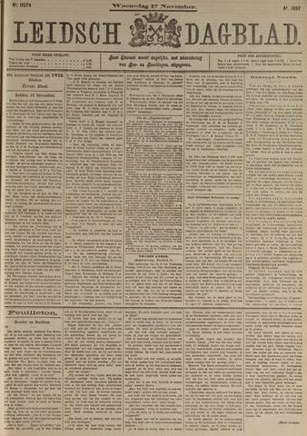 Leidsch Dagblad 1897-11-17