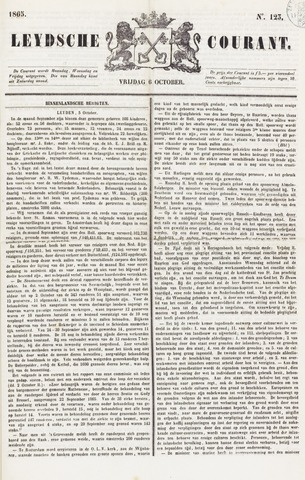 Leydse Courant 1865-10-06