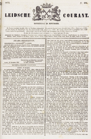 Leydse Courant 1873-11-20