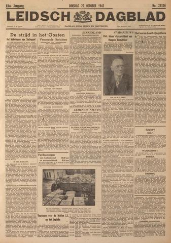 Leidsch Dagblad 1942-10-20