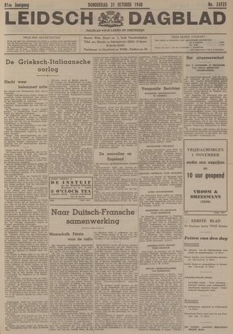 Leidsch Dagblad 1940-10-31