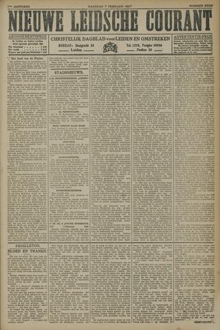 Nieuwe Leidsche Courant 1927-02-07