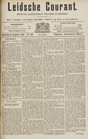 Leydse Courant 1885-08-26