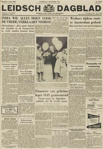 Leidsch Dagblad 1961-09-09