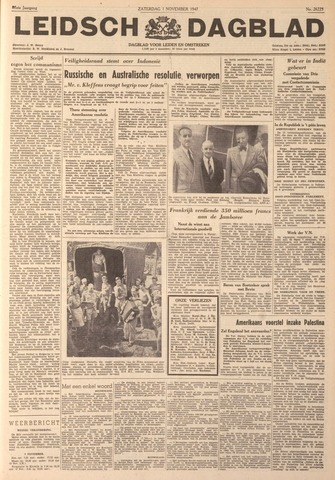 Leidsch Dagblad 1947-11-01