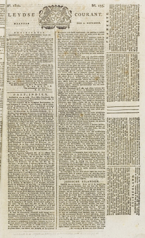 Leydse Courant 1822-11-11