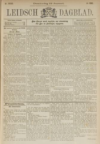 Leidsch Dagblad 1893-01-12