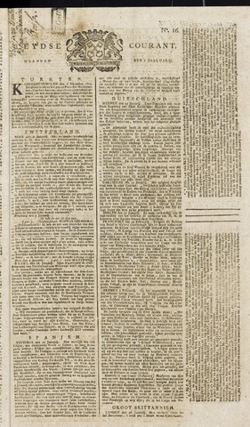 Leydse Courant 1814-02-07