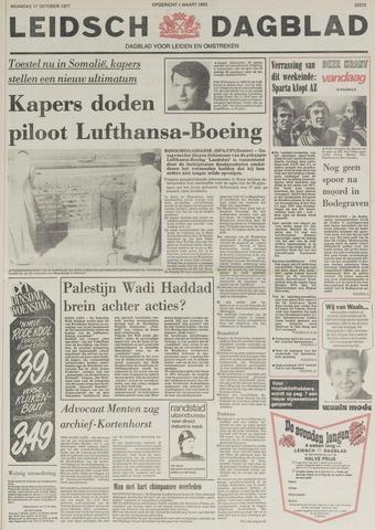 Leidsch Dagblad 1977-10-17