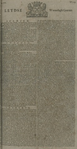 Leydse Courant 1722-11-04