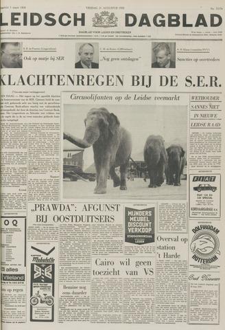 Leidsch Dagblad 1970-08-21