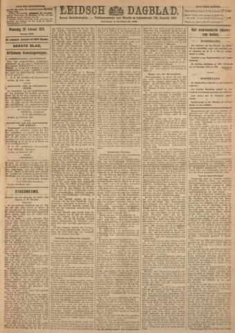 Leidsch Dagblad 1923-02-28