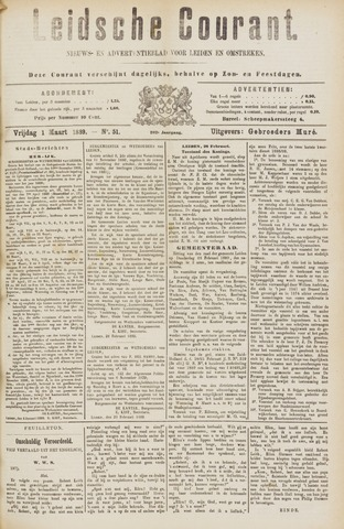Leydse Courant 1889-03-01