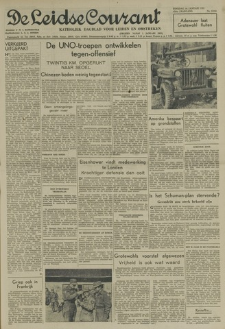 Leidse Courant 1951-01-16