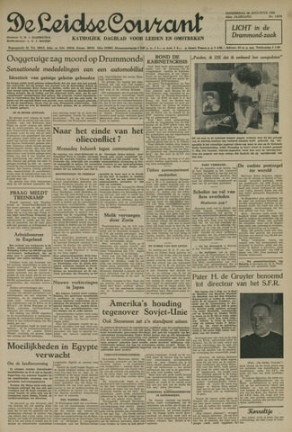 Leidse Courant 1952-08-28