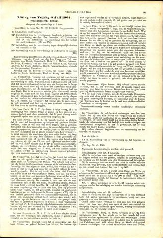 Handelingen van de Raad 1904-07-08