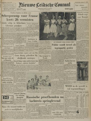 Nieuwe Leidsche Courant 1957-06-19