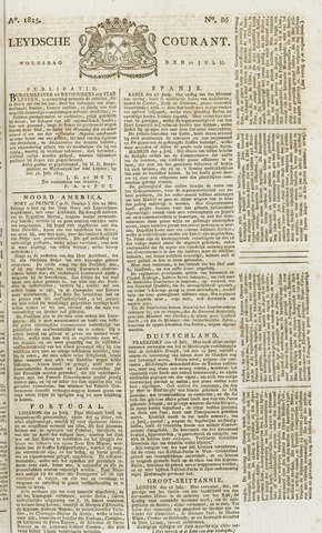 Leydse Courant 1825-07-20