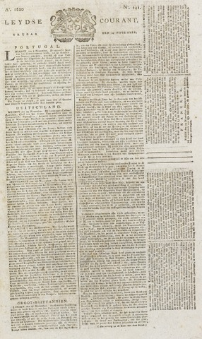 Leydse Courant 1820-11-24