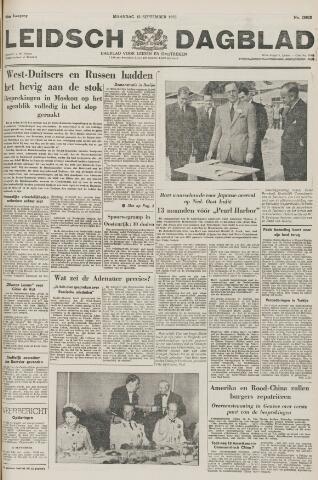 Leidsch Dagblad 1955-09-12
