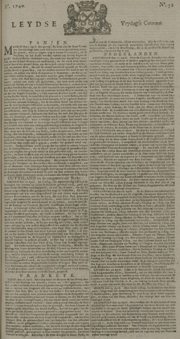 Leydse Courant 1740-04-29