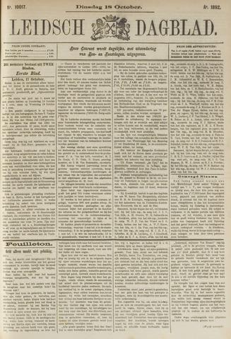 Leidsch Dagblad 1892-10-18