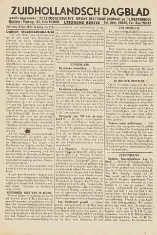 Zuidhollandsch Dagblad 1944-11-18