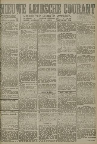 Nieuwe Leidsche Courant 1921-02-08