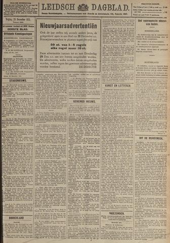 Leidsch Dagblad 1921-12-23