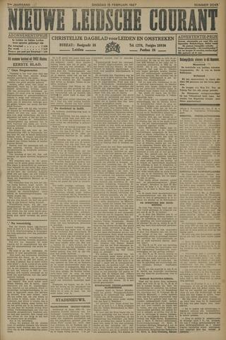 Nieuwe Leidsche Courant 1927-02-15