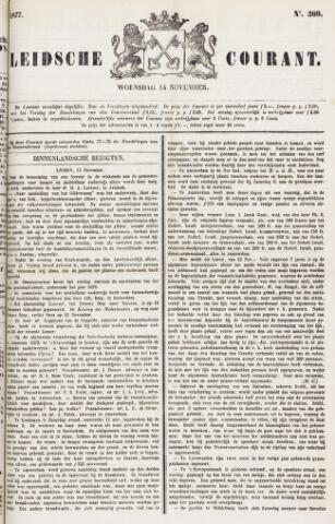 Leydse Courant 1877-11-14