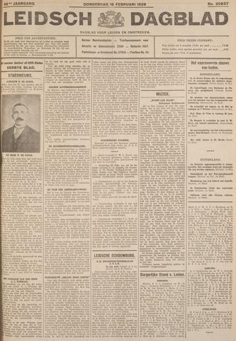 Leidsch Dagblad 1928-02-16