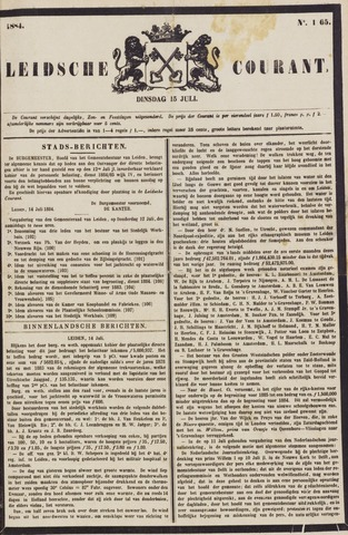 Leydse Courant 1884-07-15