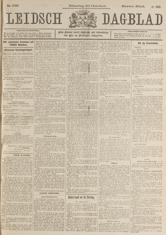 Leidsch Dagblad 1916-10-10