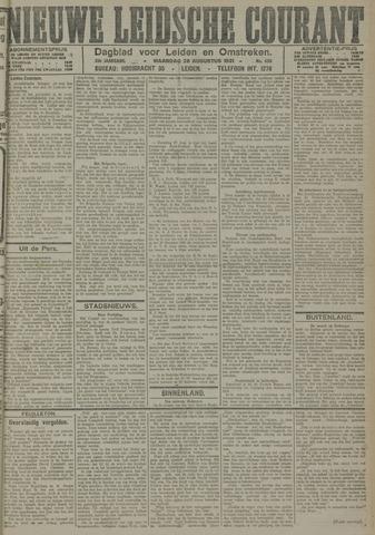 Nieuwe Leidsche Courant 1921-08-29