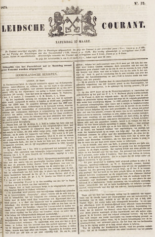 Leydse Courant 1875-03-27
