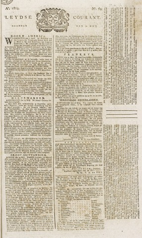 Leydse Courant 1814-05-30