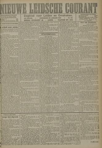 Nieuwe Leidsche Courant 1921-01-26