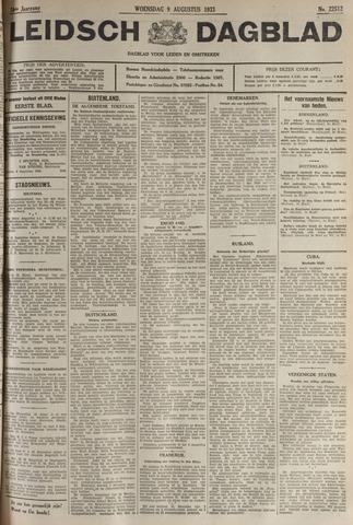 Leidsch Dagblad 1933-08-09
