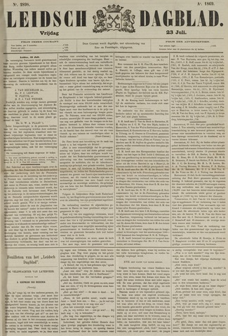 Leidsch Dagblad 1869-07-23
