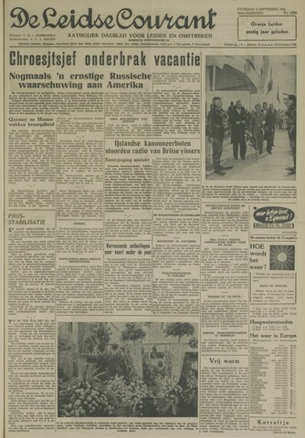 Leidse Courant 1958-09-06
