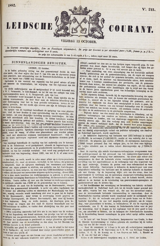 Leydse Courant 1882-10-13