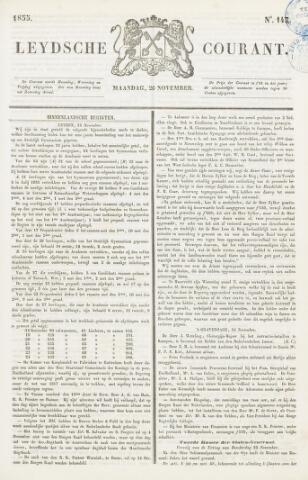 Leydse Courant 1855-11-26